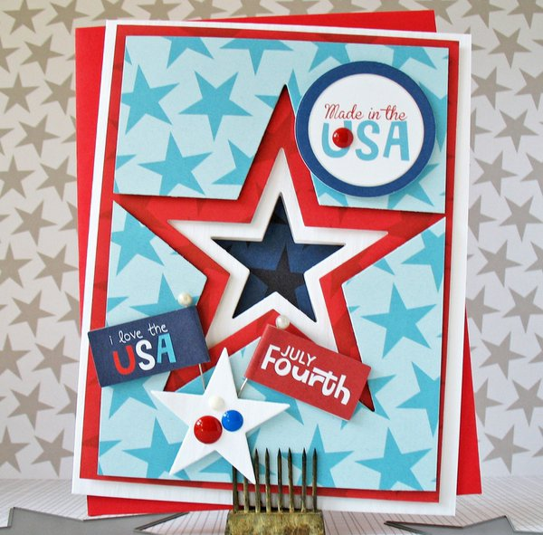 July Fourth - CardMaker