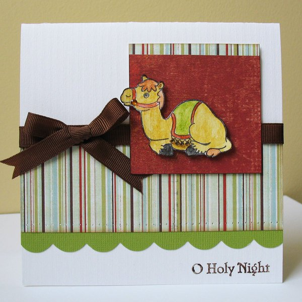 2 Sketches 4 You - Oh Holy Night Card