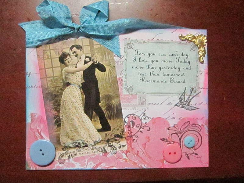 Tweety Jill Emphemera card