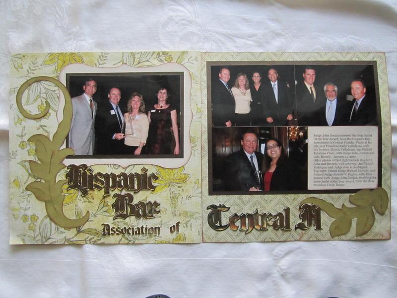 Hispanic Bar Association Award