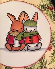 Memory Box Bunny Tag