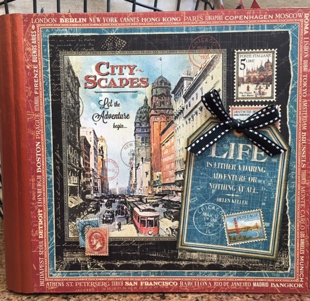 Graphic 45 Cityscapes album
