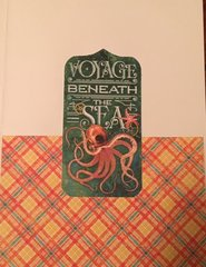 Graphic 45 Voyage Beneath the Sea Card