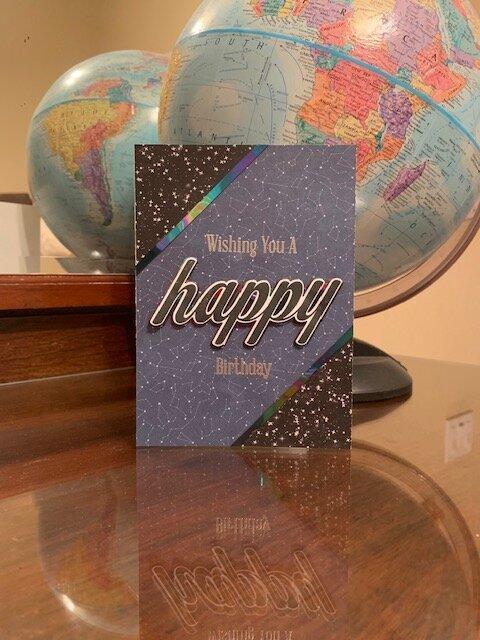 Big & Bold Happy card