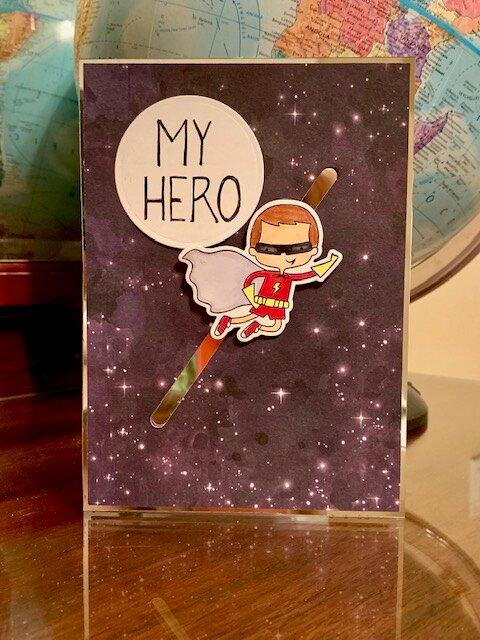 My Hero slider card