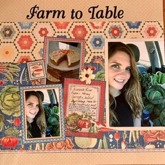 Farm to table layout