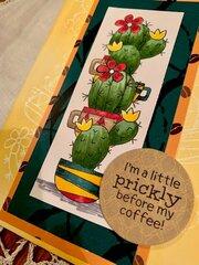 Newton's Nook Cuppa Cactus Coffee Card