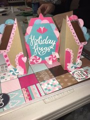 Sizzix Gingerbread house card
