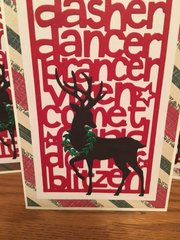 Sizzix Reindeer Cards