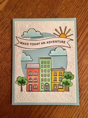 Pinkfresh A Day in the City Card