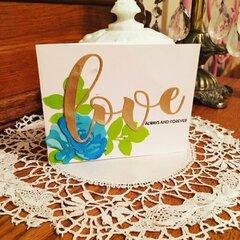 Altenew Love card