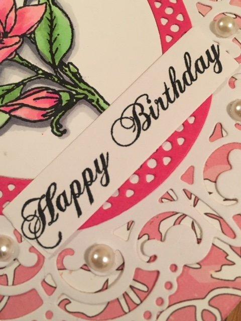 Spellbinders Birthday Card