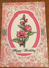 Spellbinders Birthday Card