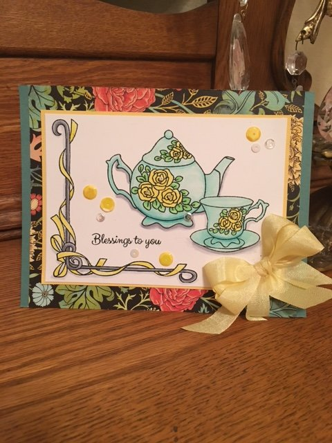 Kennedy Grace Vintage Tea Cup