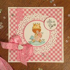 Kennedy Grace Creations Sweet Baby Mine Card