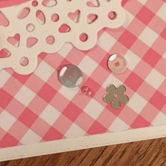 Kennedy Grace Creations Sweet Baby Mine Card