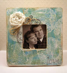 Vintage Love Frame