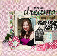 follow your dreams * Lily Bee Designs*