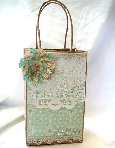 Shabby Gift Bag
