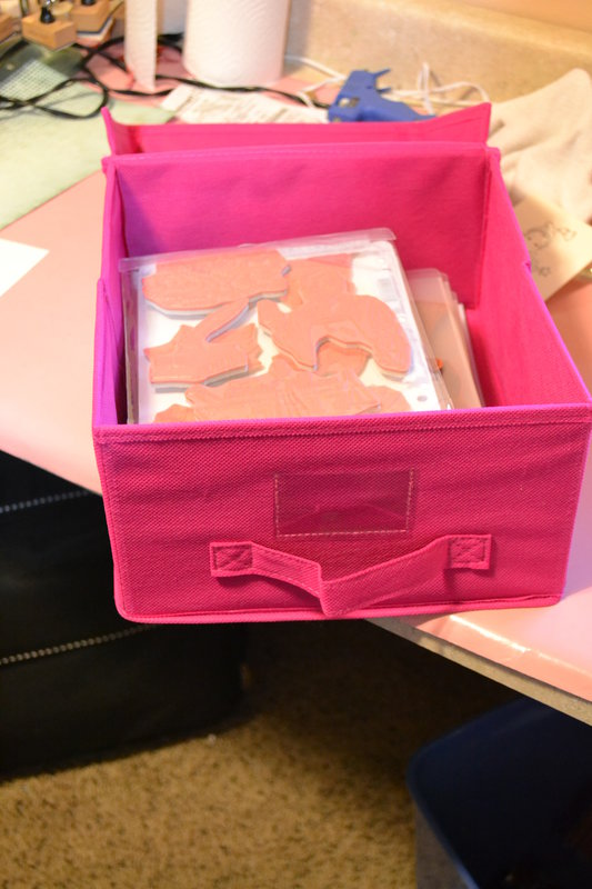 storage for my Tim Holtz and oxford impressions stamps