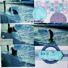 Let it Snow *Moxxie*