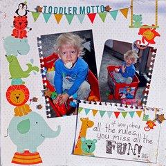 Toddler Motto