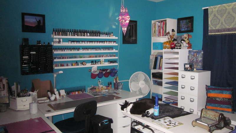 Craft Room August 2012