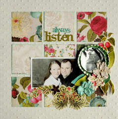 ALWAYS LISTEN **Up the Street Scrapbooking Kit**