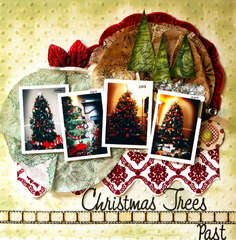 Christmas Trees Past **Glue Arts**