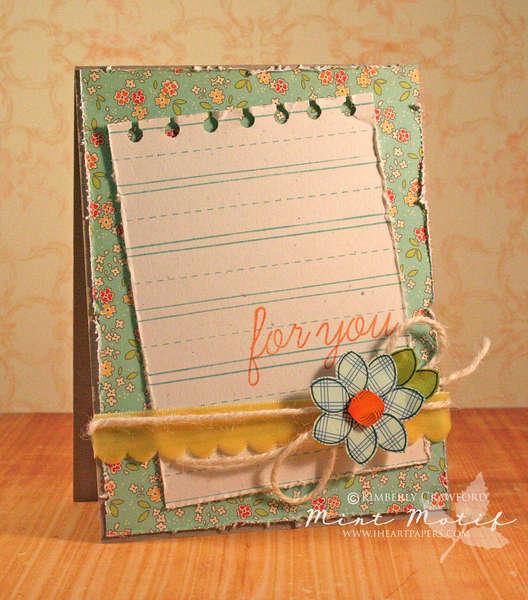 for you *Mint Motif*