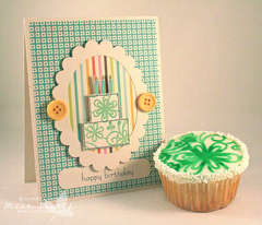 happy birthday *Mint Motif*