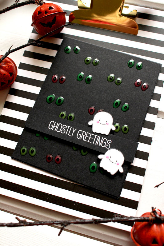 Glow-In-The-Dark Halloween card