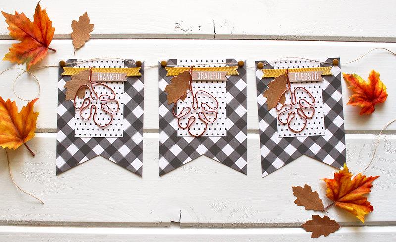 trendy fall banner