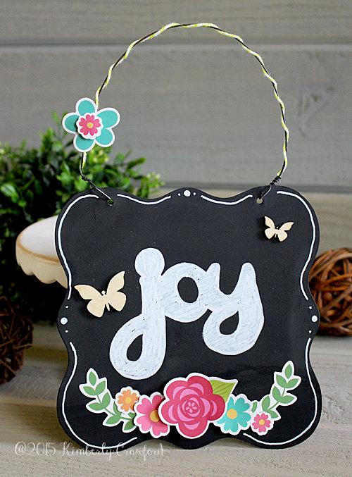 joy chalkboard