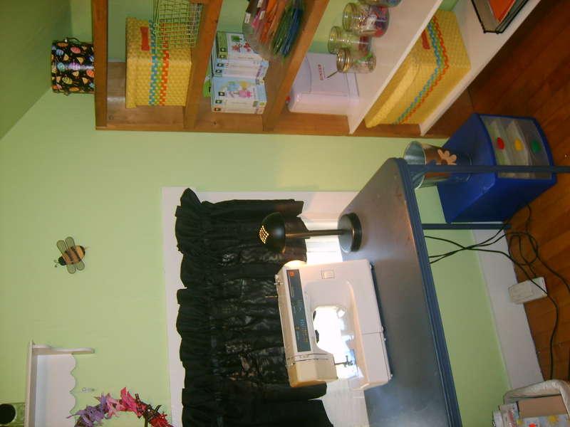 my new scrap room