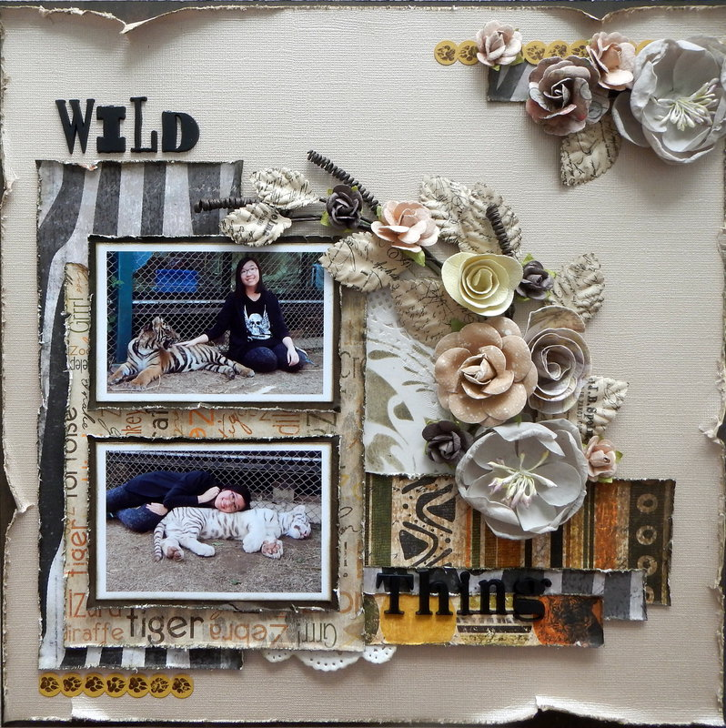 Wild Thing *My Creative Sketches*