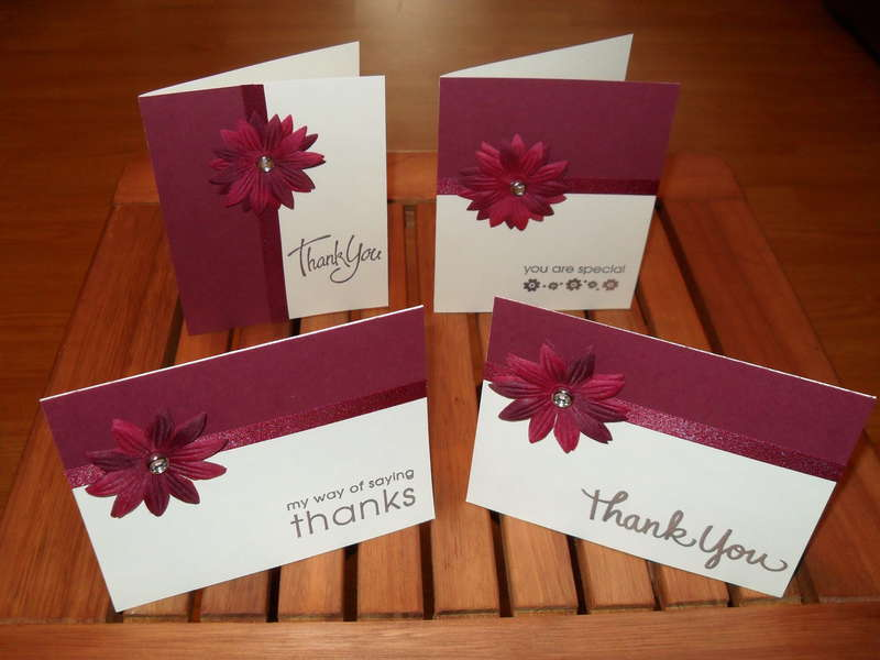 Feminine Thank You Cards