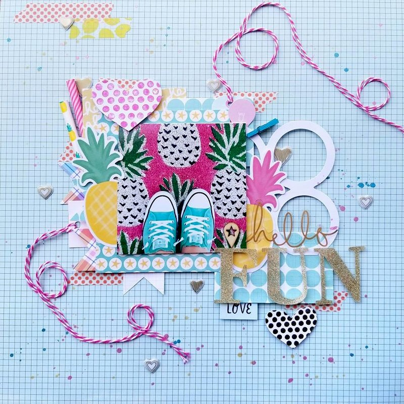 Hello Fun! {Paper Issues Pinspire Me Mood Board}