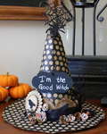 Good Witch/Bad Witch Halloween Hat