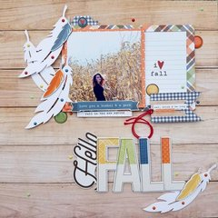 Hello Fall {Paper Issues Scraplift}
