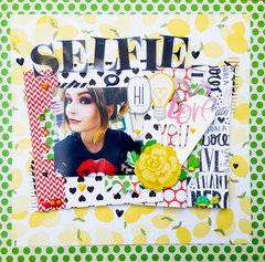 Selfie {Paper Issues Scraplift}