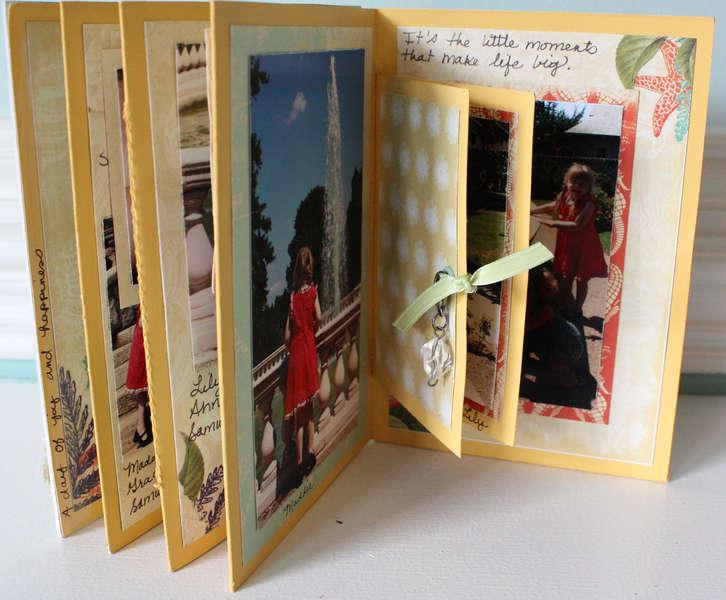 Seaside Retreat Accordion Mini Album