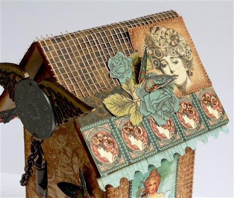 Birdhouse with Mini Album