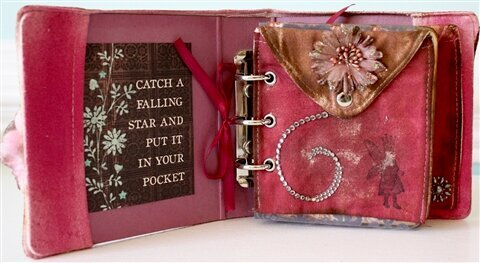 Little Book of Love Canvas Mini Album