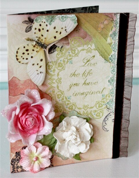 Live the Life You Have Imagined Card