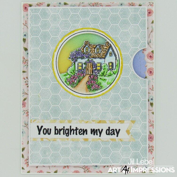 Cottage Circlet MTF View Finder Card