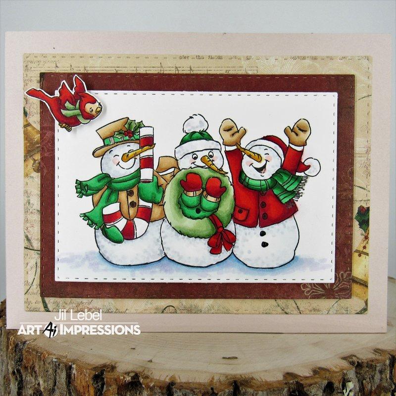 Snow Friends Wiper Card