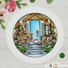 Front Porch Circlet MTF Card