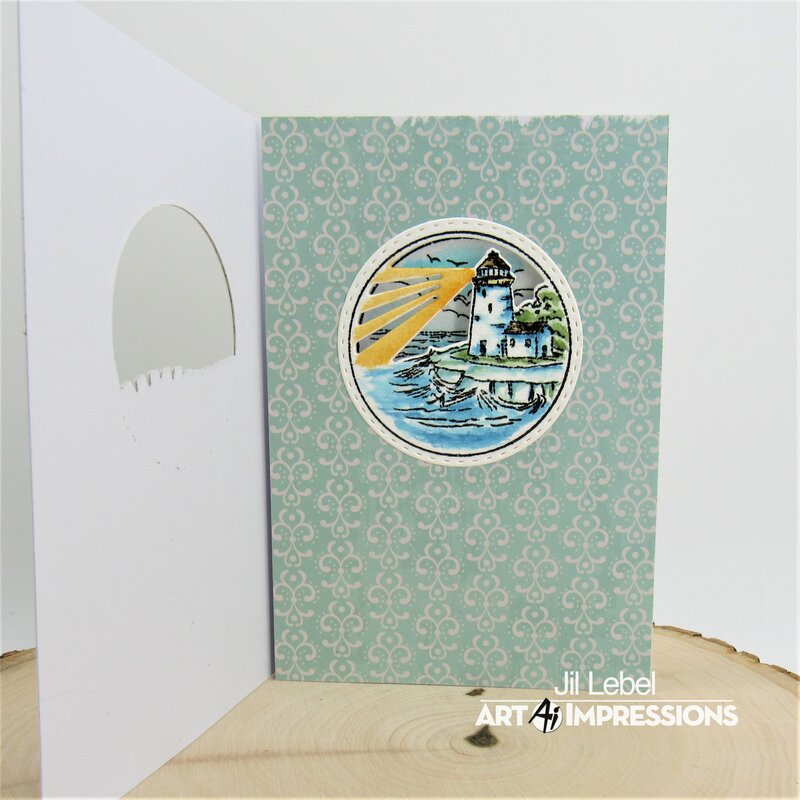 Lighthouse Circlet MTF Card