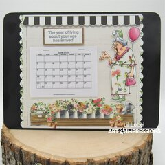 Desktop Decor Calendar